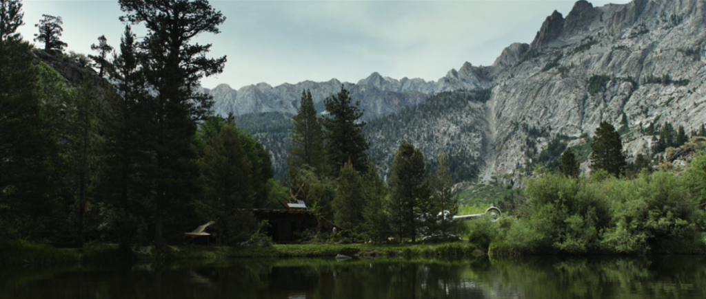 the pond from the oblivion movie, filmed in June Lake, California.
