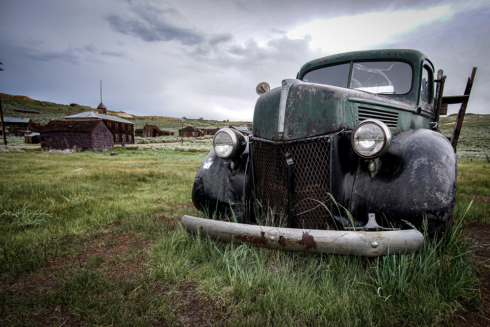 Abandoned Car from Bodie Ghost Town