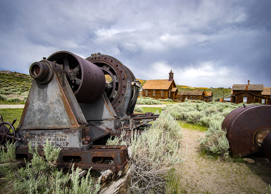 Big Mining Equipment from Bodie Ghost Town