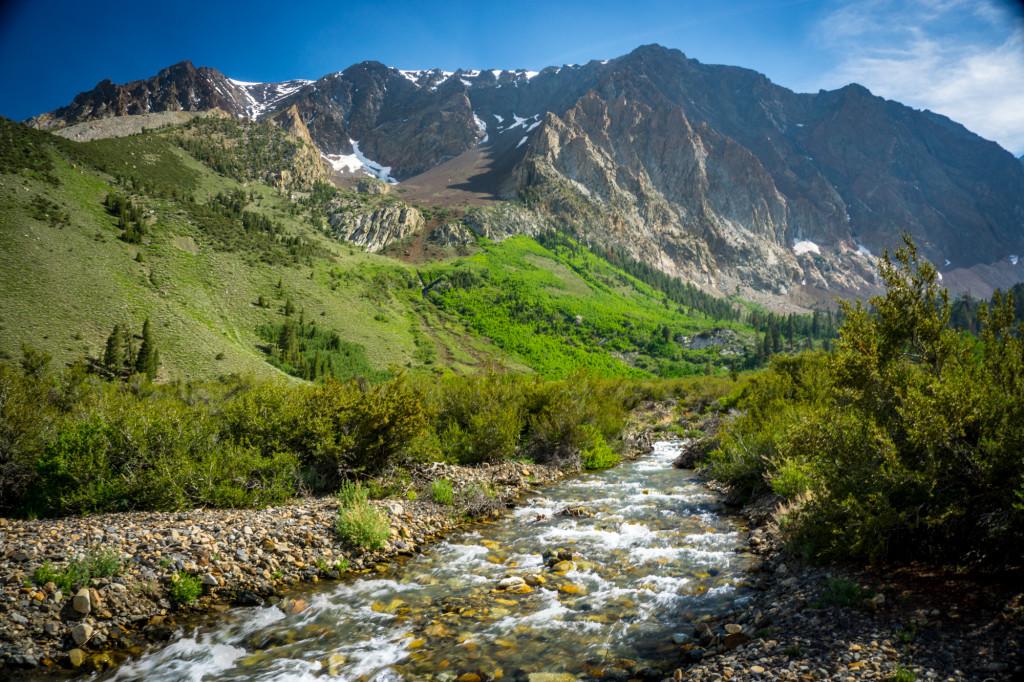 Parker Creek above Parker Lake