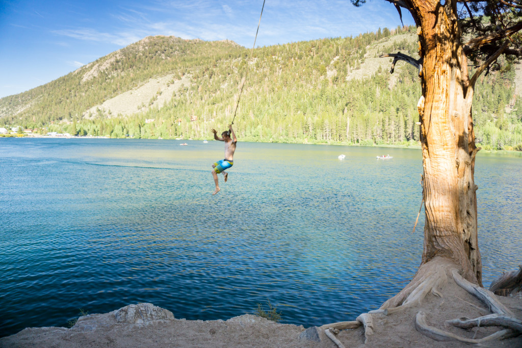 Gull Lake Rope Swing Brett